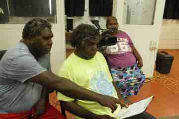 Indigenous research at the Warlpiri Language and Culture Centre