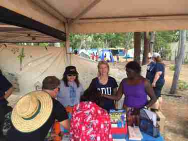 WCE Activities at Garma and Yambirrpa Schools