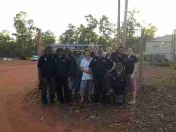 WCE Team Working Collaboratively on Country: Maningrida