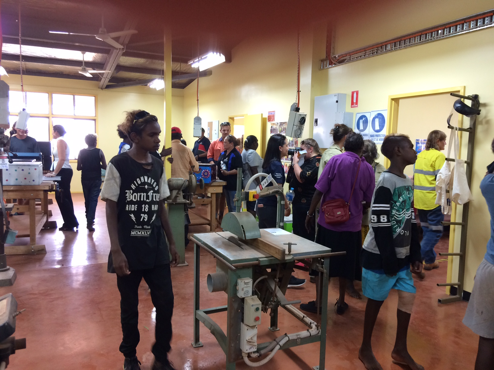 2016 Yuendumu Graduation Ceremony and career expo<br>