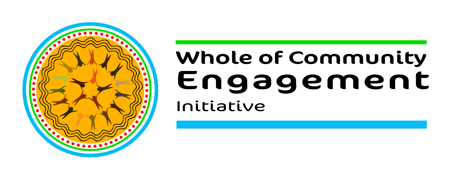 WCE logo created by Indigenous artist Jessica Sariago<br>